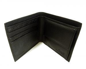 No.5 ジーンズ メンズ 財布 二つ折(ブラック)