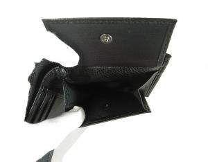 No.7 ジーンズ メンズ 財布 二つ折(ブラック)