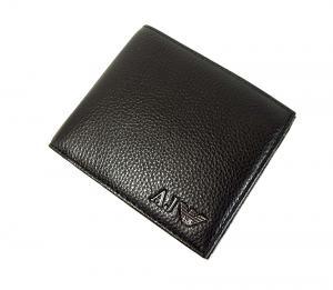 No.8 ジーンズ メンズ 財布 二つ折(ブラック)