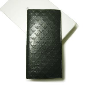 エンポリオアルマーニ 二つ折長財布(ヴェルドーネ)