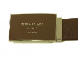 No.3 ベルト メンズ (ライトブラウン) ジョルジオアルマーニ