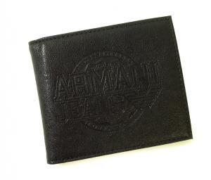 No.8 財布 メンズ ジーンズ 二つ折(ブラック)