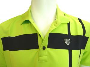 No.2 ポロシャツ ネオングリーン ゴルフ メンズ エンポリオアルマーニ EA7