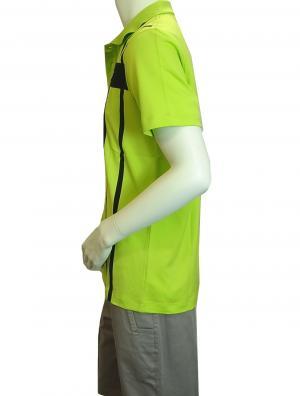 No.3 ポロシャツ ネオングリーン ゴルフ メンズ エンポリオアルマーニ EA7