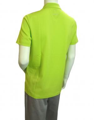 No.4 ポロシャツ ネオングリーン ゴルフ メンズ エンポリオアルマーニ EA7