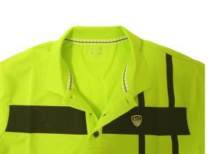 No.7 ポロシャツ ネオングリーン ゴルフ メンズ エンポリオアルマーニ EA7