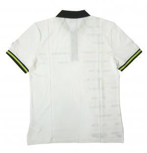 No.2 ポロシャツ ホワイト ゴルフ メンズ Lサイズ エンポリオアルマーニ EA7