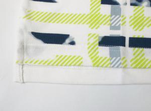 No.3 ポロシャツ ホワイト ゴルフ メンズ Lサイズ エンポリオアルマーニ EA7