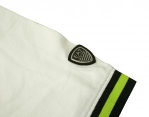 No.4 ポロシャツ ホワイト ゴルフ メンズ Lサイズ エンポリオアルマーニ EA7