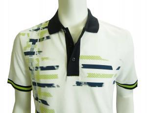 No.6 ポロシャツ ホワイト ゴルフ メンズ Lサイズ エンポリオアルマーニ EA7