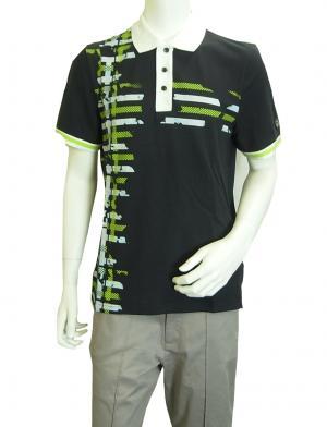 No.8 ポロシャツ ダークスレート ゴルフ メンズ Sサイズ エンポリオアルマーニ EA7