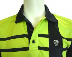 No.3 ポロシャツ ネオングリーン メンズ ゴルフ Sサイズ エンポリオアルマーニ EA7