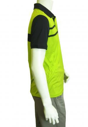No.8 ポロシャツ ネオングリーン メンズ ゴルフ Sサイズ エンポリオアルマーニ EA7