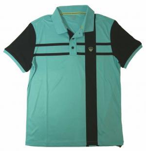 エンポリオアルマーニ ポロシャツ ライトブルー ゴルフ メンズ Mサイズ  EA7