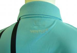 No.4 ポロシャツ ライトブルー ゴルフ メンズ Mサイズ エンポリオアルマーニ EA7