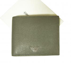 エンポリオアルマーニ 財布 メンズ 二つ折 (グレー)
