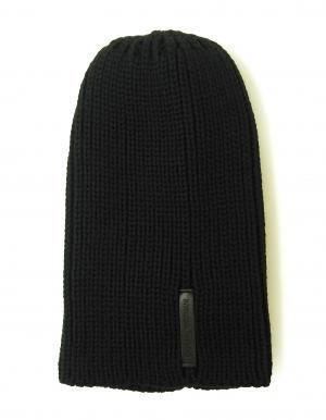 エンポリオアルマーニ ニットキャップ 帽子  (ブラック)
