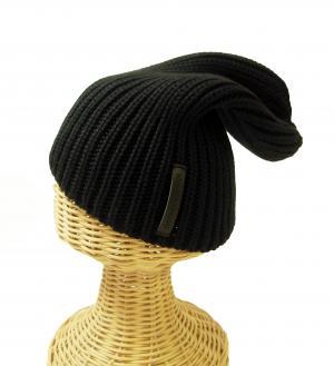 No.2 ニットキャップ 帽子 エンポリオアルマーニ (ブラック)