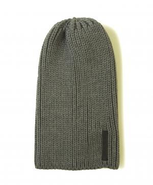 エンポリオアルマーニ ニットキャップ 帽子  (グレー)