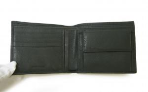 No.3 財布 メンズ エンポリオアルマーニ 二つ折 (ドジャーブルー)