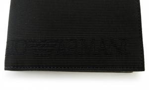 No.4 財布 メンズ エンポリオアルマーニ 二つ折(ブラック)