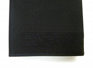 No.3 財布 札入れ&カードケース エンポリオアルマーニ 二つ折(ブラック)