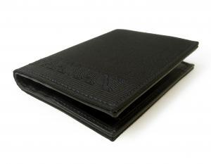 No.5 財布 札入れ&カードケース エンポリオアルマーニ 二つ折(ブラック)