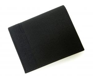 No.8 財布 札入れ&カードケース エンポリオアルマーニ 二つ折(ブラック)
