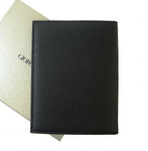 No.2 パスポートケース ジョルジオアルマーニ (ブラック)