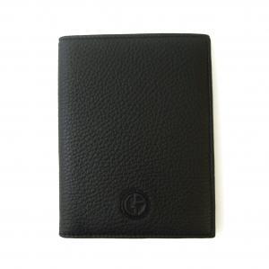 No.5 パスポートケース ジョルジオアルマーニ (ブラック)