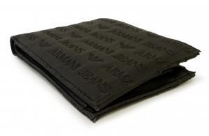 No.3 財布 メンズ ジーンズ 二つ折(ブラック)