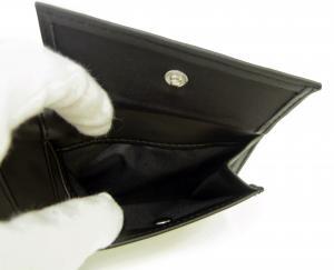 No.5 財布 メンズ ジーンズ 二つ折(ブラック)