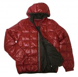 エンポリオアルマーニ ジャケット 中綿 フード  EA7(レッド)