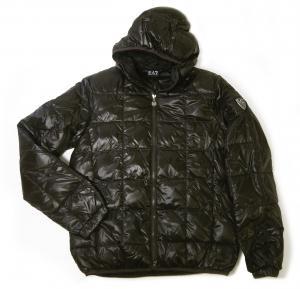 No.2 ジャケット 中綿 フード Mサイズ (ブラック)エンポリオアルマーニ EA7