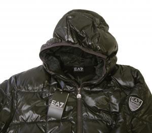 No.3 ジャケット 中綿 フード Mサイズ (ブラック)エンポリオアルマーニ EA7