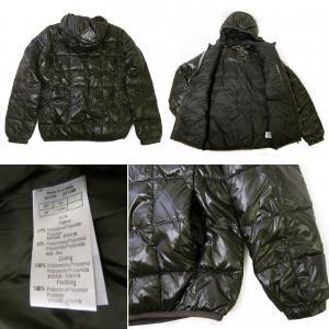 No.5 ジャケット 中綿 フード Mサイズ (ブラック)エンポリオアルマーニ EA7