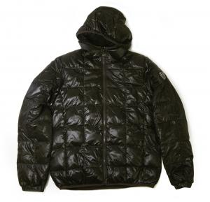 No.7 ジャケット 中綿 フード Mサイズ (ブラック)エンポリオアルマーニ EA7