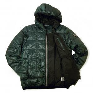 エンポリオアルマーニ ジャケット  中綿 ダウン フード  EA7(グリーン)