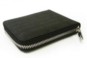No.3 ジーンズ 財布 メンズ ラウンドファスナー (ブラック)
