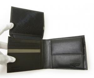 No.6 財布 メンズ ジーンズ 三つ開き メッシュ ポケット 付き バイカラー