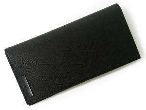 No.8 ジーンズ 長財布 メンズ 二つ折り (ブラック)
