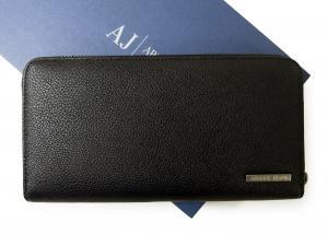アルマーニジーンズ  長財布 メンズ オーガナイザー トラベル*大きめサイズ