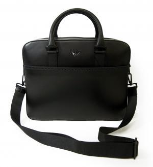 エンポリオアルマーニ ブリーフケース ビジネスバッグ サフィアノ レザー