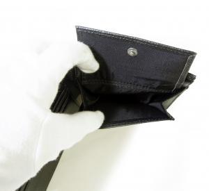 No.8 財布 メンズ ジーンズ  三つ開き メッシュ ポケット 付き