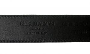 No.5 ベルト ブラック 牛革 長さ調整不可 85cm ジョルジオアルマーニ