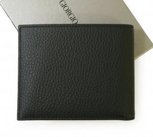 No.2 財布 札入れ カードケース ジョルジオアルマーニ *小銭入れなし