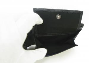 No.7 財布 メンズ ジーンズ 三つ開き メッシュ ポケット 付き