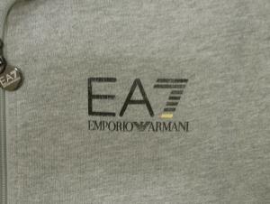 No.4 ジャージ セット トラックスーツ グレー Lサイズ エンポリオアルマーニ EA7
