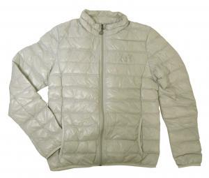 アルマーニ ダウン ジャケット ライトダウン エンポリオアルマーニ EA7 (ライトグレー) Mサイズ