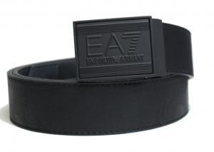 アルマーニ ベルト (ブラック) 長さ調整可能 EA7 エンポリオアルマーニ